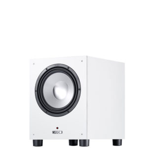 Canton SUB 10.4 Subwoofer Wit Voorkant ZF